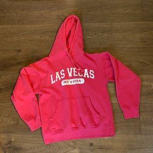 Las Vegas Nevada Pink hoodie